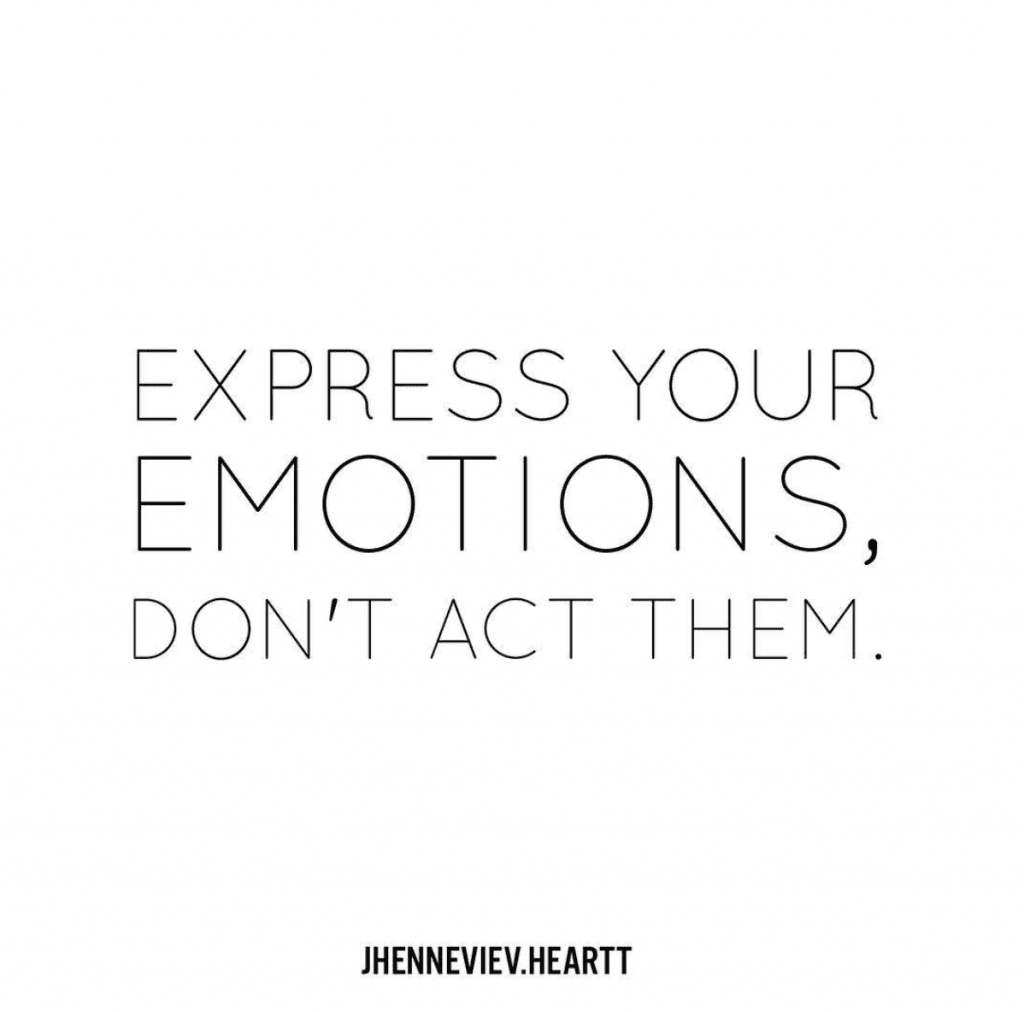 How to express yourself