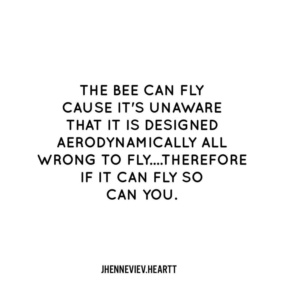 Be like a bee!
